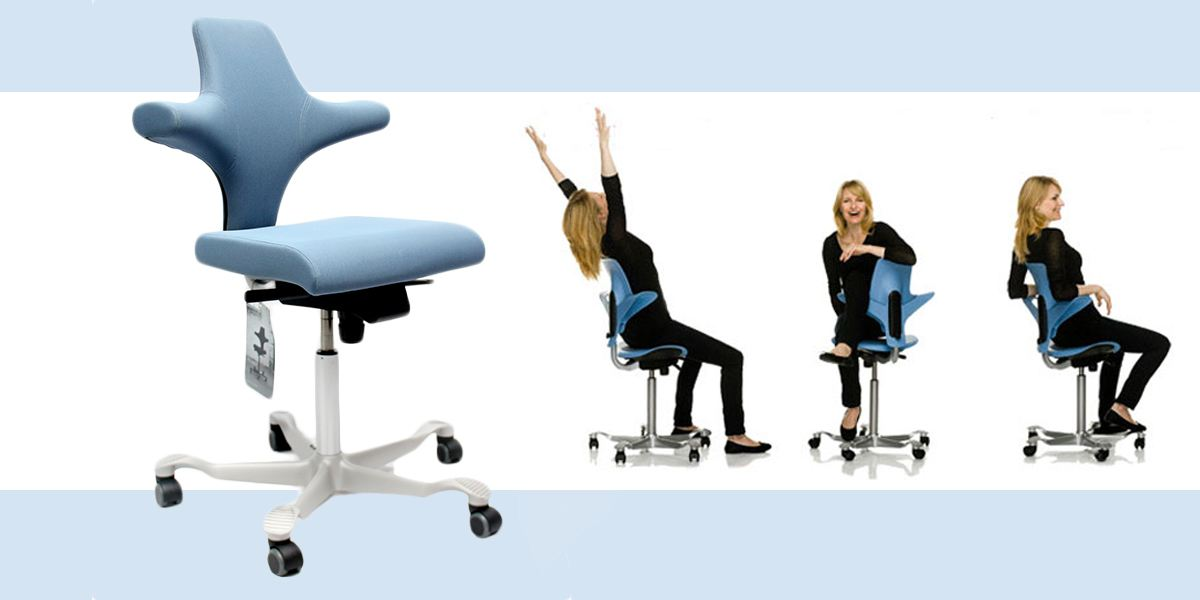 Sedie Da Ufficio Per Postura Corretta.Seduta Ergonomica Hag Capisco Da Provare