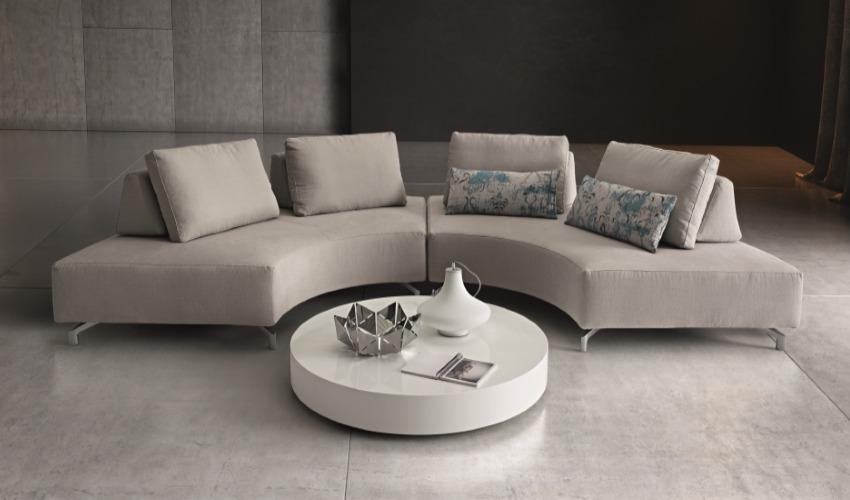 Arredamenti farronato mobilificio bassano del grappa - Divano curvo design ...
